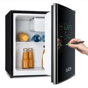 Klarstein Spitzbergen Aca, 40 l, čierna, chladnička s mrazničkou, energetická trieda A+