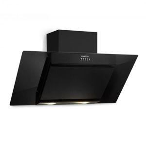 Klarstein Zola 90 digestor, 90 cm, 640 m³/h, LED, sklo, ušľachtilá oceľ, čierna farba