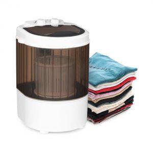 Klarstein Dash Duo, práčka, 180 W, 2,5 kg, časovač 0 – 15 min., kefa na topánky, čierna