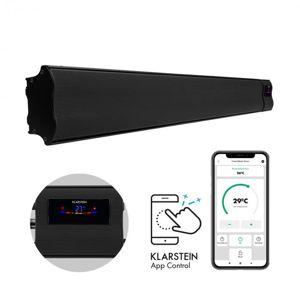 Klarstein Cosmic Beam Smart 30, infračervený ohrievač, 3000 W, ovládanie cez aplikáciu, čierny